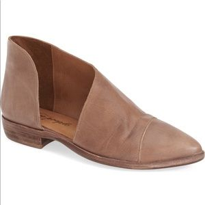 Free People royals pointy toe flat